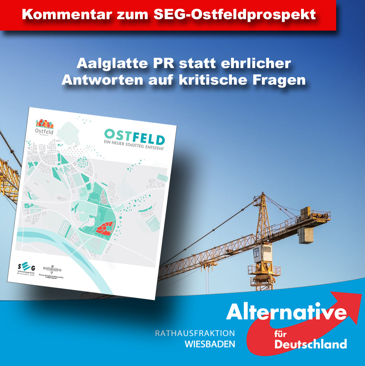 Ostfeld – ein neuer Stadtteil entsteht