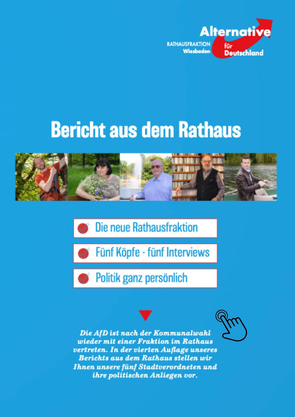 Bericht aus dem Rathaus 2021 AfD Wiesbaden